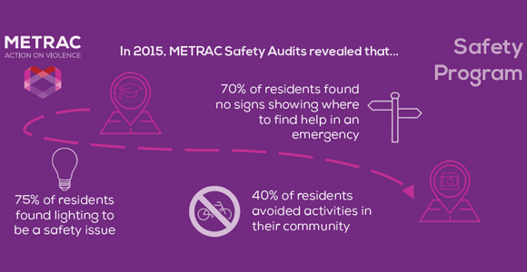 infographic with statistics from data gathered in Safety Audits in 2015