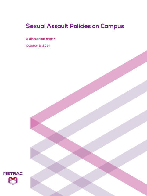 Campus Sexual Assault Policies Paper