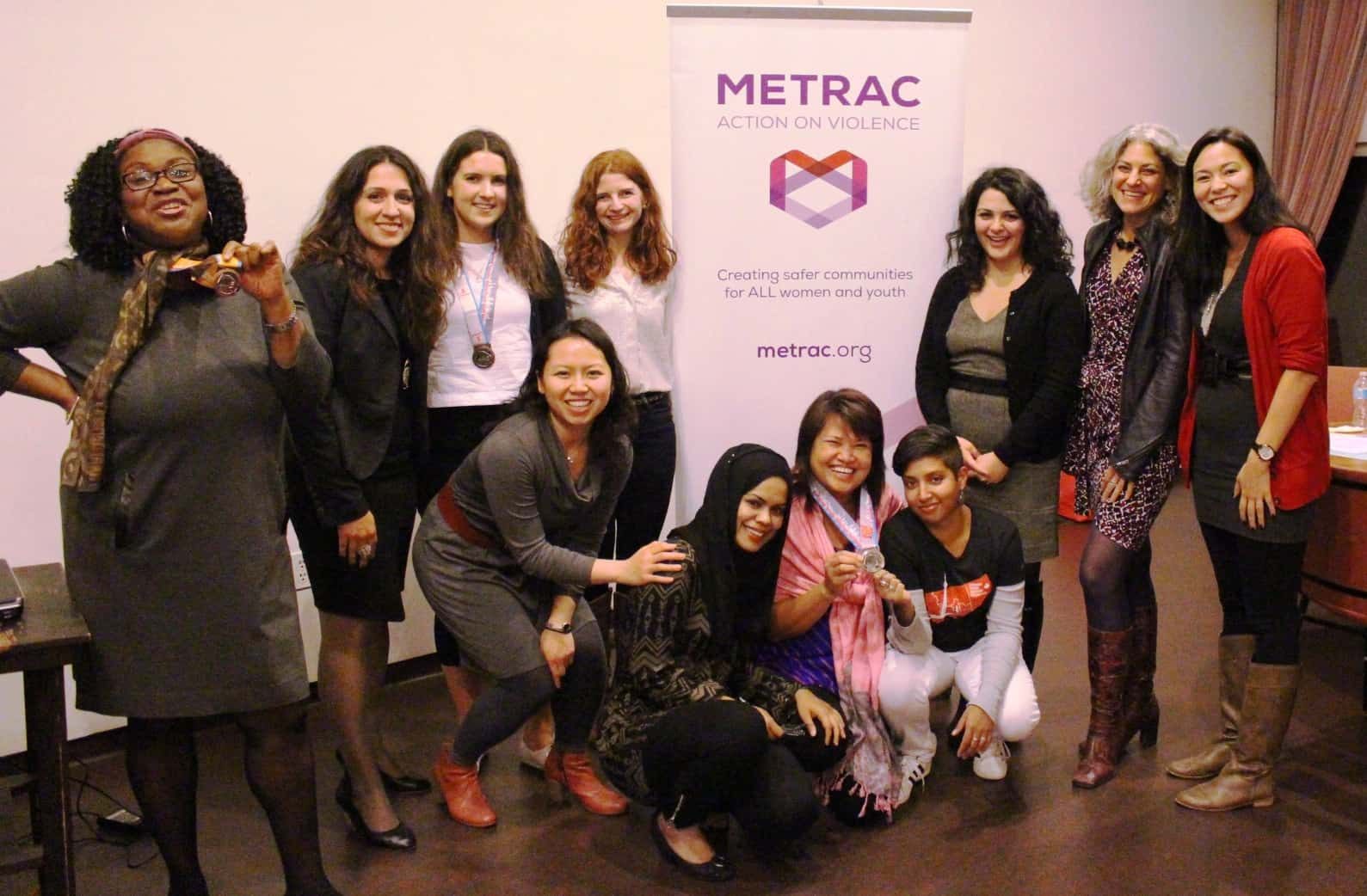 Picture take at METRAC's 2015 Annual General Meeting.